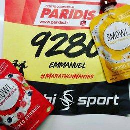 Merci Emmanuel pour ton post et on te souhaite de tout ⚡️☄️💥. Bon courage à tous les participants du @marathonnantes . #repost #energie #marathonnantes #sport #proteine #nantes #course #courir #petitdejeuner #snack #encas #sain #bio #equilibre